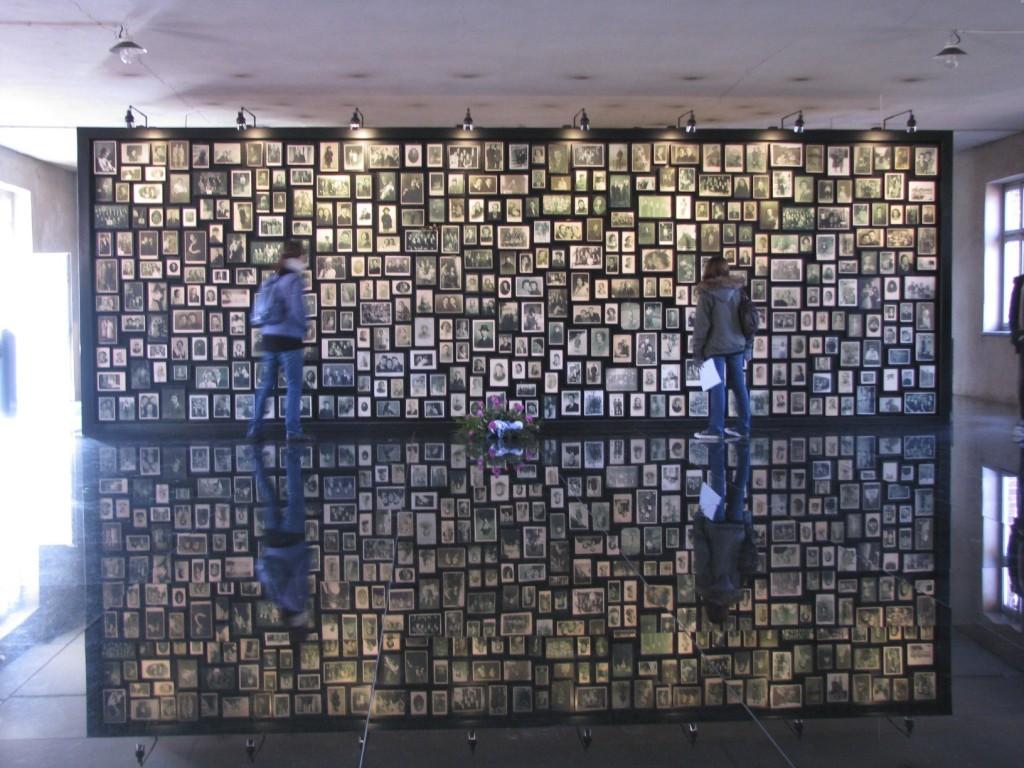 Musée installé dans le camp de Birkenau