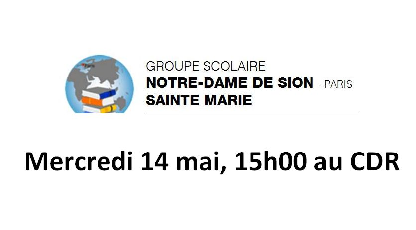 Réunion 14 mai