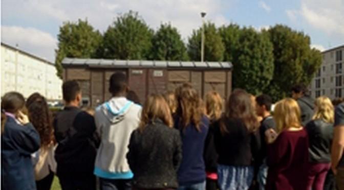 Les élèves de NdS-Evry se préparent au 9° Train de la Mémoire