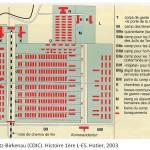 Plan Auschwitz-Birkenau CDJC Hatier 2003
